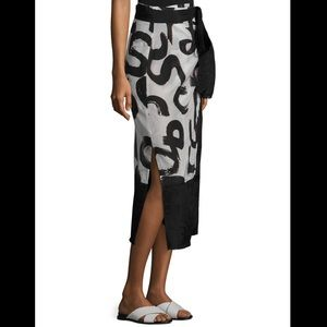 NWT Proenza Schouler wrap skirt